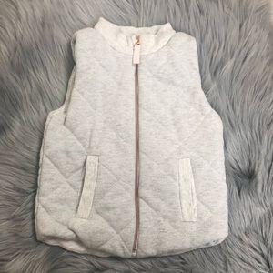 Glittery silver vest